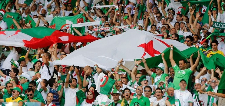 supporters algeriens