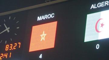 maroc algerie 4 - 0