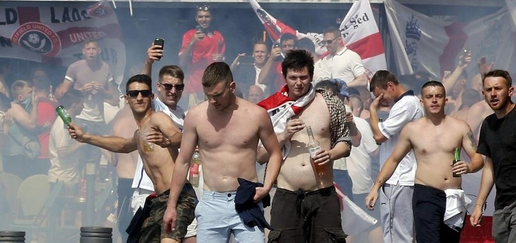 angleterre russie violence