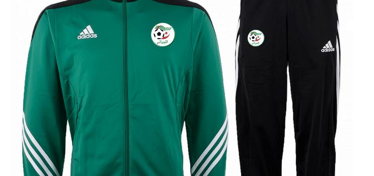 Adidas présente le survêtement de l'Algérie pour la Coupe du